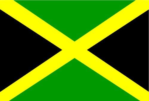 Michael & Rene Pflüger Barmstedt Auto Aufkleber Fahne von Jamaica Jamaika Flaggen Länder Sticker Motorrad Bike