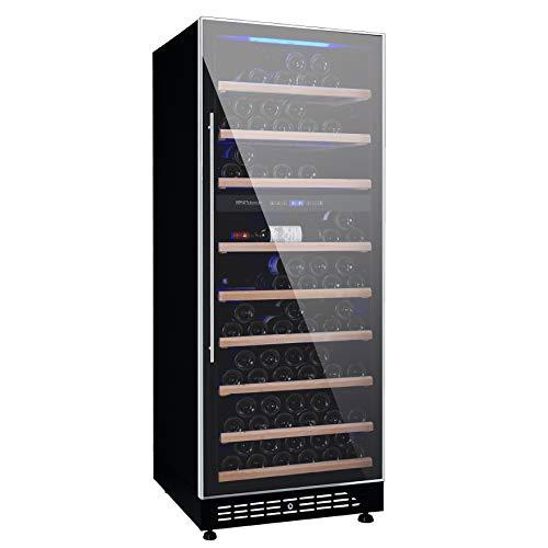 Renoir - Weinkühlschrank mit zwei Temperaturen - 100 Flaschen - H. 164 / L. 59.5 / T. 59