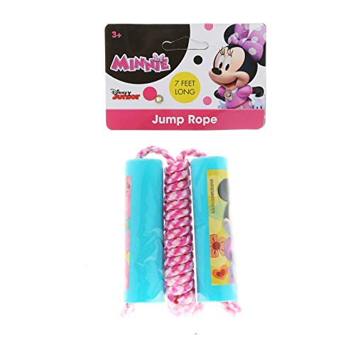 Sale!! What Kids Want Minnie Mouse Bow - Tique Shaped Handle Jump Rope