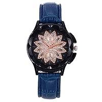 QTMIAO 美しいドレスウォッチ時計 女史ベルトが運命を時計クォーツ腕時計 (Color : 10)