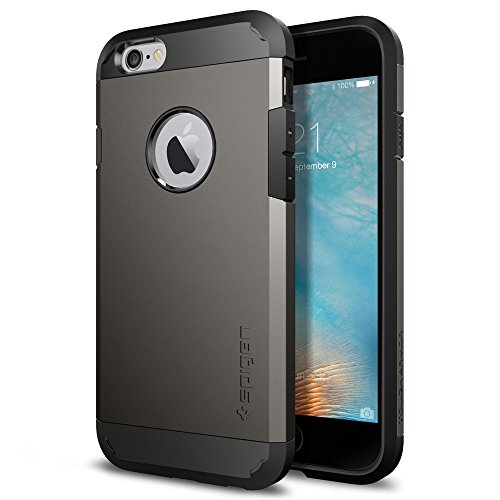 Spigen Tough Armor Designed for Apple iPhone 6S Case (2015) - Gunmetal