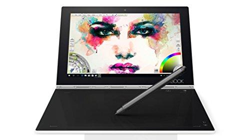 Lenovo Yoga Book 25,5 cm (10,1 Pulgadas Full HD IPS Touch) Tablet PC Convertible (Intel Z8550, 4 GB de RAM, 128 GB eMMC, Wi-Fi, Windows 10 Pro), Color Blanco