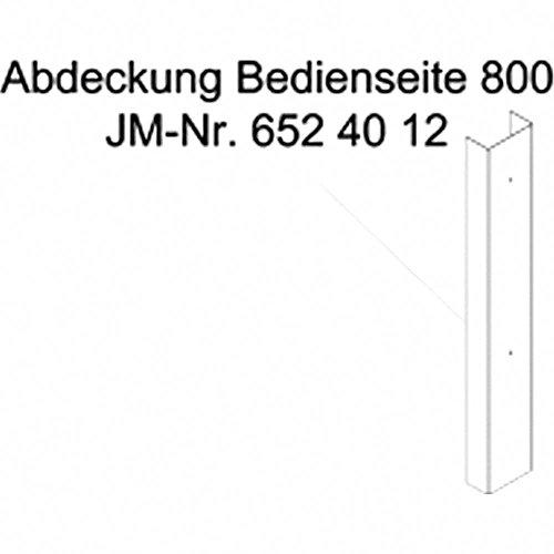 JMP Abdeckung bedienseite 800mm JMP Fox 4000 H