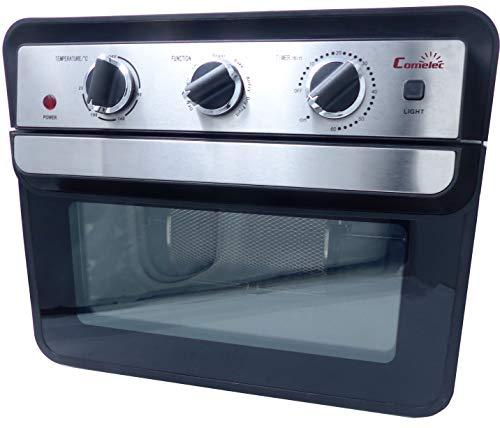 Horno combi, horno- freidora por aire COMELEC, 22 L, opción cocinar y freir a la vez, 1700w
