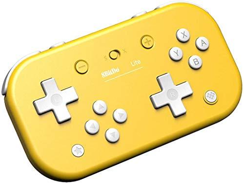 8Bitdo Lite Bluetooth Gamepad for Nintendo Switch Lite, Nintendo Switch & Windows,Steam, Raspberry Pi (Yellow Edition)