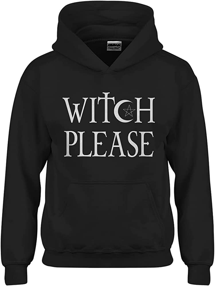 Witch Please Youth Unisex Hoodie