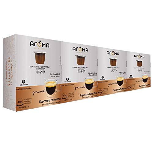 150 Cápsulas Para Nespresso - Café Portofino - Cápsula Aroma