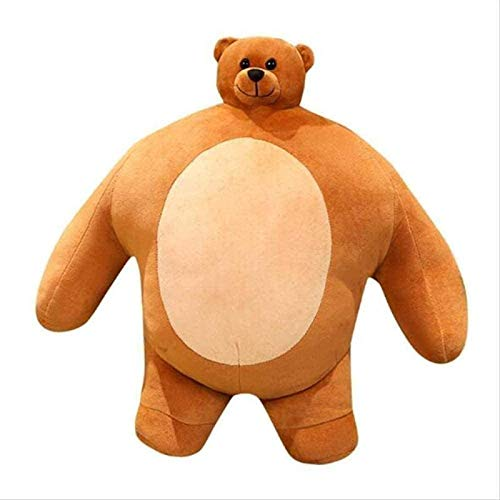 DINEGG 47 cm a Cute Hawaiian Plush Toy Stuffed Pillow Boyfriend Bear Companion Gift YMXGZSHOP
