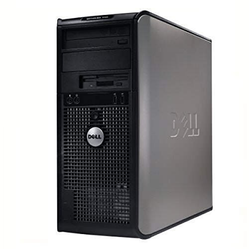 Dell Optiplex Minitower PC - Intel Core 2 Duo 1.8GHz 4GB 160GB DVD Windows 10 Home Edition (Certified Refurbishe)