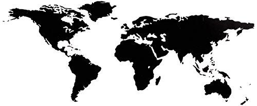 Bilderdepot24 Adesivo Autoadesivo della Parete - Mappa del Mondo 144x59cm - Beni di qualità Direttamente dal Produttore