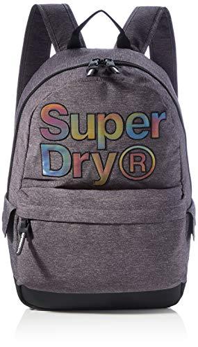 Superdry Womens Rainbow INFILL Montana Rucksack, Grey Marl, OS