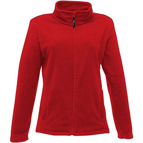 Regatta Damen Jacke Full Zip Micro-Fleece 40 Classic Red
