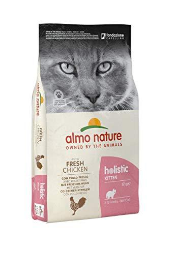 almo nature Kitten con Pollo Fresco- Crocchette per Gattini dai 2 ai 12 Mesi- 12 kg