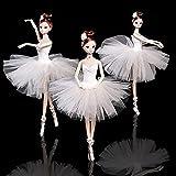 GSDJU 1 Pieza 32cm muñeca de Ballet Moda niña muñecas Grandes Originales Hechas a Mano 1/6 muñeca Conjunto Completo 11 muñecas articuladas niñas Juguetes para niños Regalo