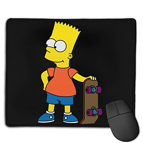 Mouse Pads Bart-Simpson Game Mouse Pad is Suitable for Game Work Learning Design