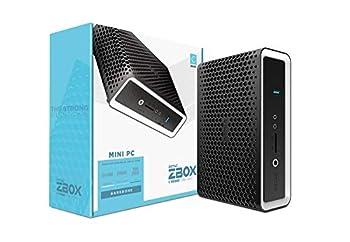 ZOTAC ZBOX CI662 Nano Silent Passive-Cooled Mini PC 10th Gen Intel Core i7 Quad-core Intel UHD Graphics No Memory/Storage/OS Barebones System ZBOX-CI662NANO-U