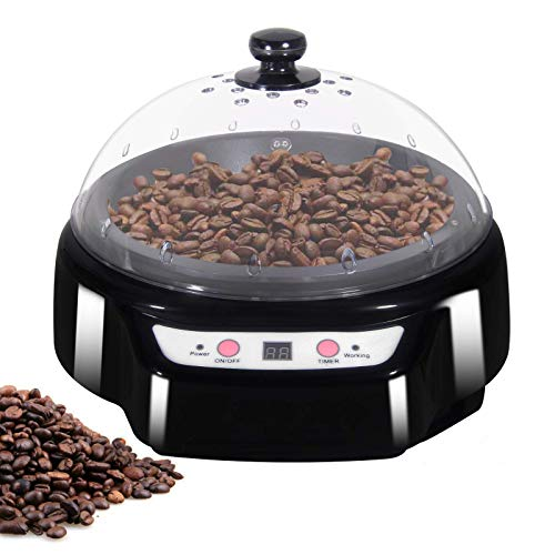 YUCHENGTECH Macchina per la torrefazione dei chicchi di caffè elettrica per uso domestico Torrefazione dei chicchi di caffè con funzione di temporizzazione 500g 1200W