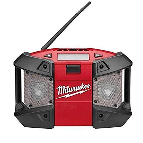 Milwaukee 0002156 Radio Heavy Duty a batería 12 V con conexión MP3