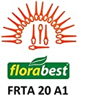 20Lames de rechange/planchette à découper/couteau en plastique pour votre Flora Best FRTA 20A1Coupe-gazon à batterie IAN 282232.