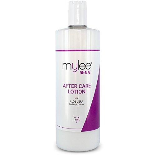 Mylee MYL008 - Crema Hidratante para Piel para Despues del Depilado, Relajante de Aloe Enriquecido, 500ml…
