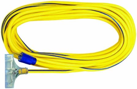 Voltec 05-00124 NEW before selling ☆ 12 3 SJTW Outdoor Max 56% OFF Power wit Cord Block Extension