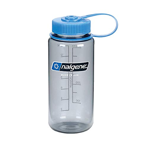 nalgene(ナルゲン) カラーボトル 広口0.5L トライタンボトル グレー 91301