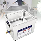 BIWASimple Household Fruit and Vegetable Cleaning Machine, 304 Stainless Steel and Digital Timer Heater, Ultrasonic Jewelry Cleaner Portable and Low Noise Ultrasonic Machine