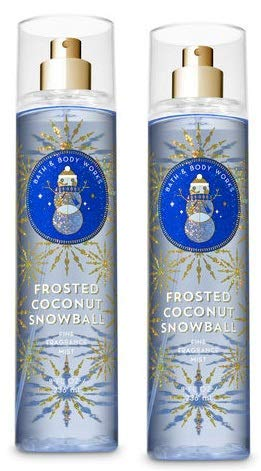 Bath and Body 70% OFF Outlet Works 2 Pack Elegant Fragran Frosted Coconut Fine Snowball