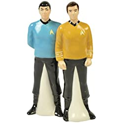 Dream Loot Crate Kirk Spock Salt Pepper Shaker Set