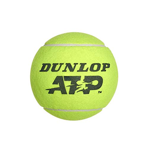 Dunlop 10288329 Palla Gigante Midi Atp 5 Pollici, Giallo