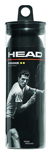 HEAD Prime - Bolas de Squash, 3 Bolas