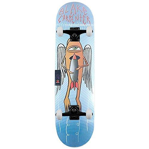 Toy Machine Blake Carpenter bombs away Pro skateboard completo blu 21,3cm