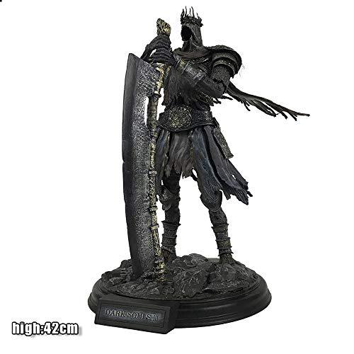 HAIZI FIGURE Dark Souls 3 Rolle Yhorm The Giant Abbildung Modell Resin Statue Hauptdekoration 42CM