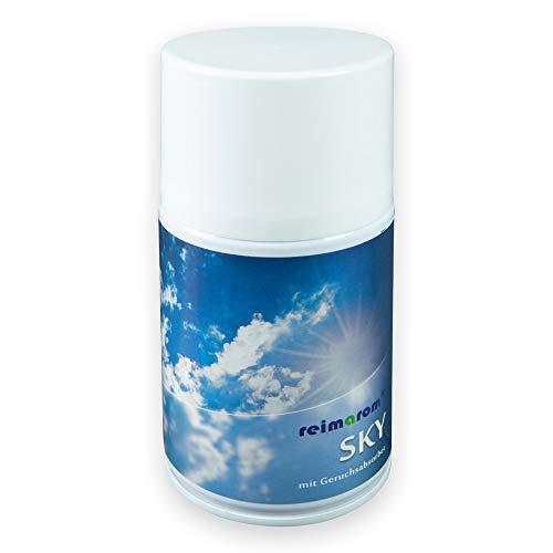 Duftspray für Duftspender Sky für die Raumbeduftung 250 ml mit Geruchsentferner