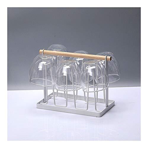 Copas de vino tinto Vidrio doble capa Latte - resistente al calor de café de cristal taza / bebida caliente y fría / té / café con leche capuchino / microondas y lavavajillas / 240ml / 360ml / 450ml V