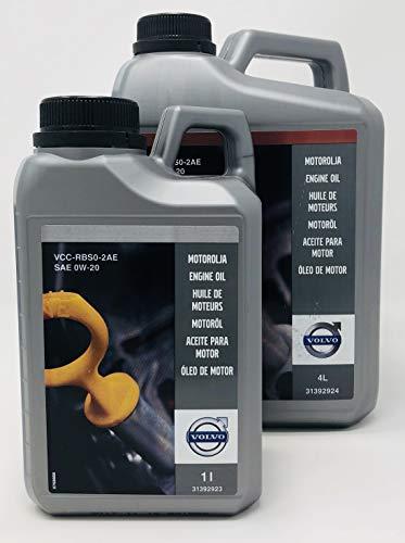 Volvo Aceite para Motor Original Drive-E SAE 0W20 RBS0-2AE - 5 litros