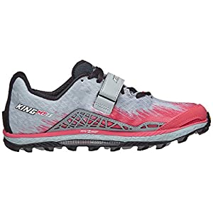 ALTRA Women's AFW1852G King MT 1.5 Trail Running Shoe, Gray/Pink - 10 M US