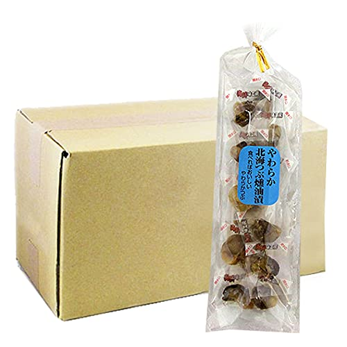 おつまみ お徳用 やわらか 北海つぶ 燻油漬60g 1箱 20袋 ツブ貝 おつまみ くん油漬け 個包装 お土産