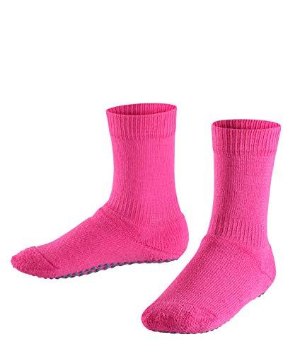 FALKE Kinder Stoppersocken Catspads - Baumwollmischung, 1 Paar, Rosa (Gloss 8550), 27-30