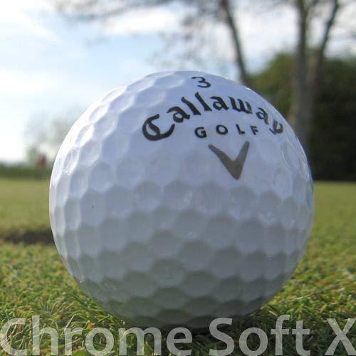 50 Callaway Chrome Soft X LAKEBALLS/GOLFBÄLLE - QUALITÄT AAAA/AAA