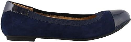 Vionic Wohommes Spark Tiegan Tiegan Ballet Flat chaussures - Robe Décontracté Flats with Concealed Orthotic Arch Support 7.5 W US bleu  qualité authentique