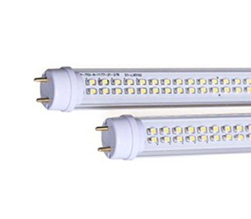 LineteckLED® - E01.005.25N Tubo neon LED 120cm 25W con copertura trasparente attacco T8 luce naturale (4000K) 2500 lumen fascio luminoso 120°