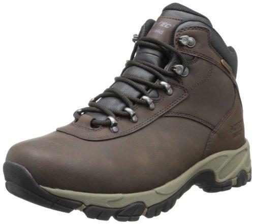 Hi-Tec Men's Altitude V I Waterproof Hiking Boot,Dark Chocolate/Dark Taupe/Black,10.5 M US