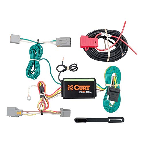 CURT 56218 Vehicle-Side Custom 4-Pin Trailer Wiring Harness, Fits Select Ford...