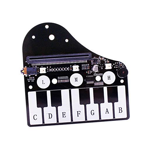 Milageto Mini Piano Modul Für Micro: Bit Piano Interface Adapter Erweiterungskarte - ohne microbit Board