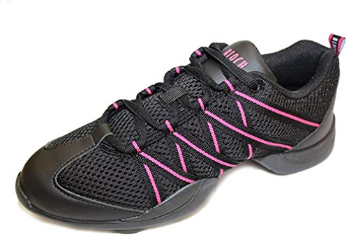 Bloch 524 Rosa Criss Cross Tanz Sneaker Grosse 39 1/3(UK 6)