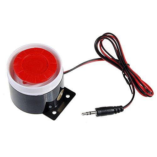 Doradus 120 décibels 9v orateur de corne de sirène télégraphié pour le système de sécurité d'alarme gsm