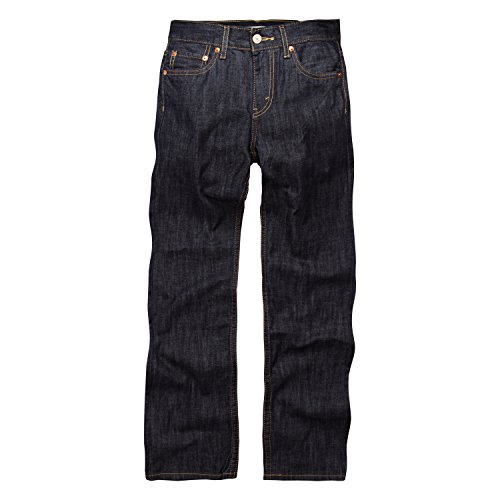 Levi's Boys' 514 Straight Fit Jeans, Ice Cap, 18 Slim