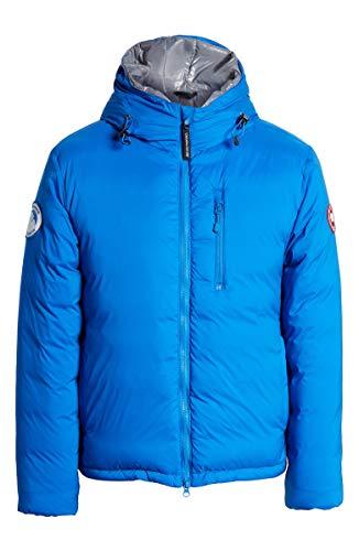 PBI Lodge Slim Fit Packable 750 Fill Power Down Hooded Jacket Royal Pbi Blue (S, Royal Pbi Blue)