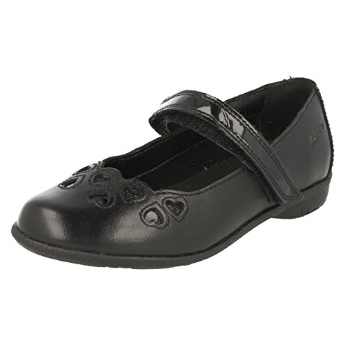 Clarks Girls School Orra Mimi Inf Leder Schuhe In Schwarz